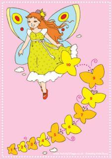 Fairy reward chart printable
