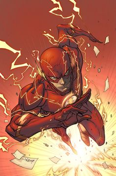 The Flash, Barry Allen Comic Book Characters, Comic Character, Comic Books Art, Comic Art, Flash Comics, Arte Dc Comics, Batwoman, Nightwing, Art Flash