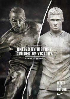 united by history. Nike Poster, Poster Ads, Funny Commercials, Funny Ads, Rugby, Max Trainer, Nike Wedges, Nike Design, Commercial Ads
