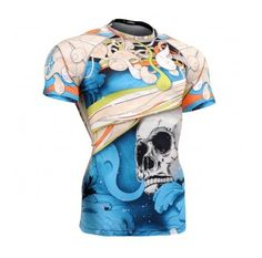 FIXGEAR CFS-19B COMPRESSION BASE LAYER SHIRTS SHORT SLEEVE Price: 45.99€  shop at : http://fixgear.ie/?route=product/product&path=96_146&product_id=820