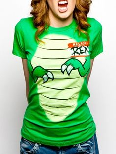 Hello My Name Is Rex T-Shirt. I need this.