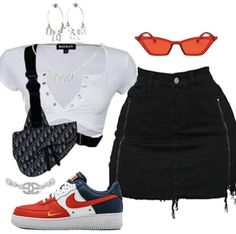 Image in outfits 9 collection by vodkabitchess Cute Swag Outfits, Cute Casual Outfits, Edgy Outfits, Retro Outfits, Rock Outfits, Teen Fashion Outfits, Kpop Outfits, Look Fashion, Swag Fashion