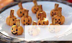 Pumpkin Cheddar Cheese Balls