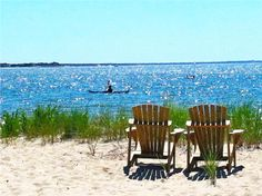 Breathe in the salt air in Wellfleet, #CapeCod. This is what Summer should look like :)
