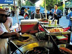 Vendedor de comida no México