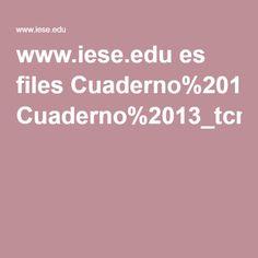 www.iese.edu es files Cuaderno%2013_tcm5-75666.pdf