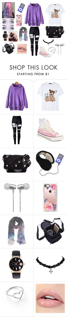 """""""Untitled #316"""" by foxydeadpool on Polyvore featuring Markus Lupfer, WithChic, Converse, Marc Jacobs, 180s, Cynthia Rowley, Casetify and Jordan Askill"""