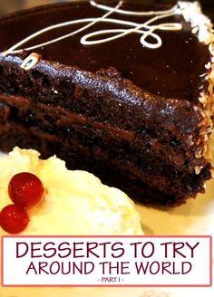 10 Desserts to try around the world – Part 1