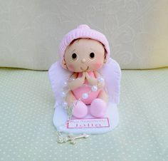 Barbie Bebe, Little Dolly, Polymer Clay Ornaments, Baby Shawer, Clay Baby, Clay Figures, Baby Shower Cakes, Cute Baby Animals, Beautiful Dolls