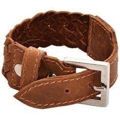 Sakhi Styles Genuine Leather Bracelet for men's_SS-B-16