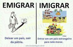 Emigrar/Imigrar