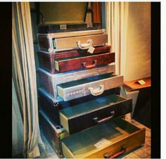 suitcase dresser | suitcase dresser This is Jacksons new Dresser ...