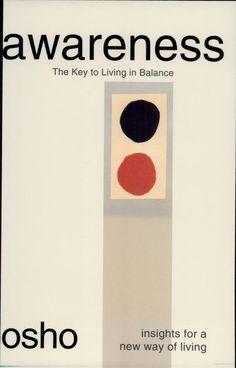 Awareness: The Key to Living in Balance - Osho - Google Books