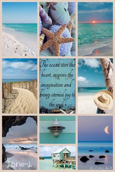 Lorie~L.  Beautiful Beach Collage