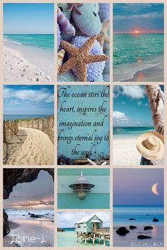 Lorie~L. Beautiful Beach Collage