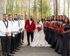 Black wedding poses , wedding poses for bride and groom, wedding poses for Black Bridesmaids, Black Bridesmaid Dresses, Bridesmaids And Groomsmen, Black Wedding Dresses, Wedding Bridesmaids, Black Red Wedding, Groomsmen Tuxedos, Groomsmen Wedding Attire, Wedding Suits