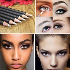 New Arrival Eye Waterproof Makeup Long Lasting Quick Dry Natural Brown Black White Eyeliner Pens Tool Cosmetics