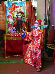 These actors in Manila, the Philippines, are marking Chinese New Year with a performance of Chinese opera. Chinese Opera, Chinese New Year, Manila, Philippines, Actors, Painting, Chinese New Years, Actor, Painting Art