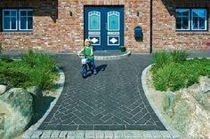 Homeplaza - Pflasterklinker in verschiedenen Formaten erzeugen spannende Effekte - Individueller Außenbereich