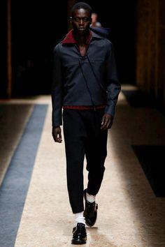 Prada FW16.  menswear mnswr mens style mens fashion fashion style prada runway