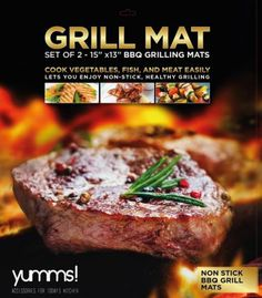 Yumms! #BBQ Grilling #Mat Review #yumms #gourmet #grilling #review