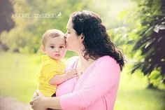 Mother son pictures. Mother infant photo ideas. 6 month photo ideas. 9 month photo ideas. 1 year photo ideas for boy. Summer baby pictures.