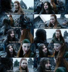 The Hobbit: The Battle of the Five Armies - Tauriel &  Kili