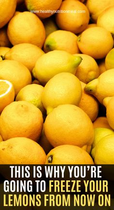 A new study showed that lemonoids, a natural compound present in lemons and other citrus fruits, prevents and stop the development of cancer cells especially breast cancer! Science says that nothing should be left aside when eating a lemon, the inside, the juice or the seed, especially not the peel! The peel contains 5 to… Fruit, Food, Eten, Hoods, Meals
