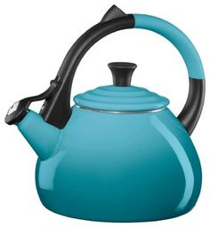 Le Creuset Enameled Steel 1.9-Quart Oolong Tea Kettle - traditional - kettles - by Chef's Corner Store