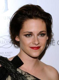Simple Updo Kristen Stewart Hairstyle