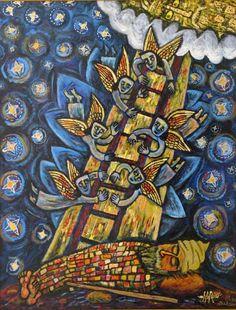 Jacob's Ladder - Brian Whelan paintings www.brianwhelan.co.uk