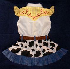 Reserved for Mummyjess88 Jessie dress. Toy Story by BrandMeQT