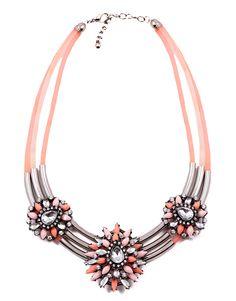 statement necklace Necklaces, Bracelets, Pandora Charms, Charmed, Jewelry, Jewlery, Jewerly, Schmuck, Jewels