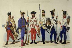 Austrian army uniforms