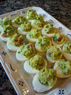 Holy Guacamole Eggs