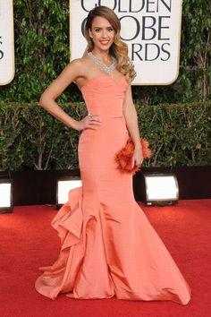 Jessica Alba - Globos de Oro 2013