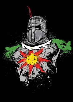 Shop Praise the Sun dark souls t-shirts designed by DrMonekers as well as other dark souls merchandise at TeePublic. Dark Souls Solaire, Dark Souls Merchandise, Cracked Wallpaper, Arte Dark Souls, Soul Tattoo, Praise The Sun, Gaming Posters, Knight Art, Poster Prints