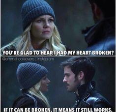 I wanted them to kiss sooooooo bad! Like ugh Emma just needs to stop walking away from him!