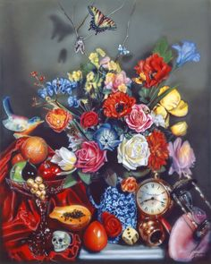 Audrey Flack is an American artist whose works include Abstract Expressionism, New Realism, Photorealism, Sculpture, and Drawing. Advanced Higher Art, Still Life Drawing, Art Students League, Queer Art, The Calling, Photorealism, Hyperrealism, Gcse Art, Realism Art