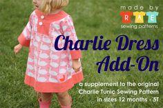 Charlie Dress Add-on by madebyrae,