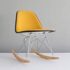 Eames Hopsack RSR Mustard, now featured on Fab.