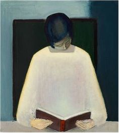 Jarne Gissel: Woman reading. 1962.