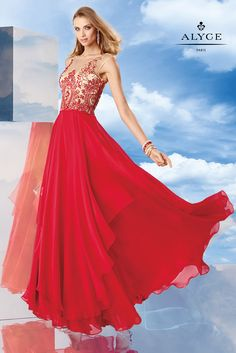 Alyce Special Occasion 6457  Alyce Paris Prom The Ultimate Womans Apparel