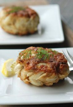 This is my favorite crab cake recipe. If you don't overmix, and don't pack your mounds too tightly, you will experience pure, unadulterated crab cake heaven.