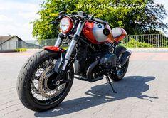 BMW R nineT red-orange Umbau