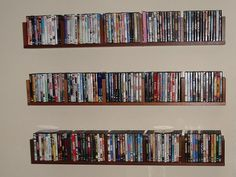 25+ DVD CD Storage Unit Ideas You Had No Clue About. Wall ShelvesBook ... & CD storage--for my husband?? | Cd and bookcases | Pinterest | Cd ...