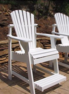Elegant Balcony Adirondack Chair