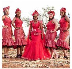 Venda Traditional Attire, Setswana Traditional Dresses, South African Traditional Dresses, Traditional Wedding Attire, African Print Wedding Dress, African Wedding Attire, African Attire, African Evening Dresses, Latest African Fashion Dresses