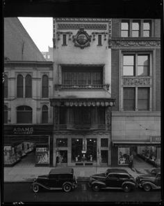 Child's Restaurant Building,456 S. 4th St. Louisville, Kentucky, 1940. :: Royal Photo Company Collection