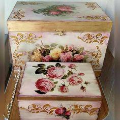 Artesanato em Mdf caixa decorada